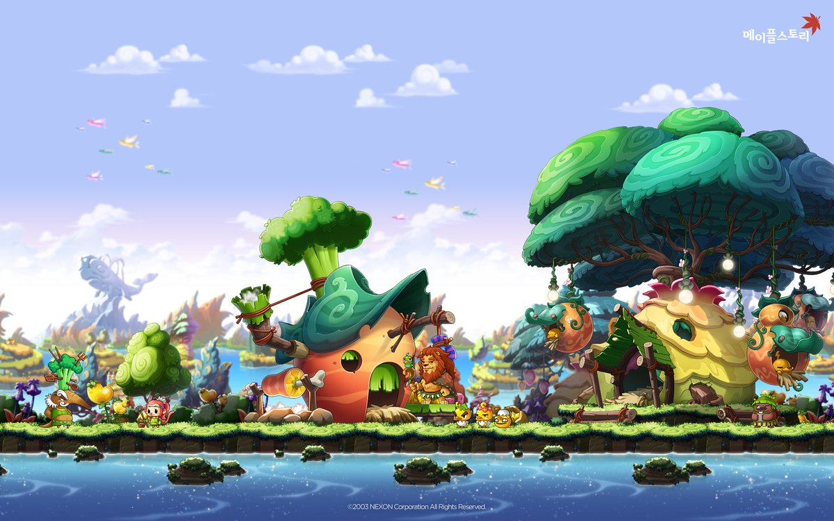 Spadow Wallpapers Of Upcoming Maps Of The Continent Of Arcane River Maplestory