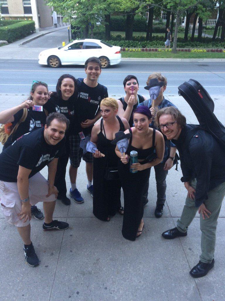 Thanks WellesShylock for seeing House of Vinyl today! @Toronto_Fringe @WellesShylock #WellesShylock #houseofvinyl