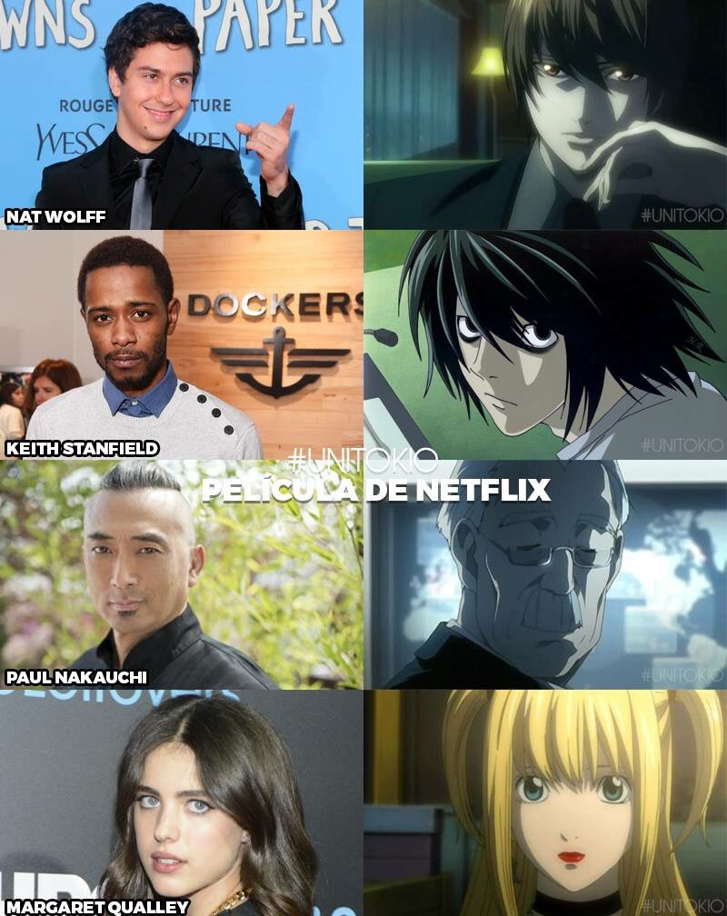 Post -- Death Note -- Version USA -- Ahora se encarga Netflix CmPZON2WIAAt4fL