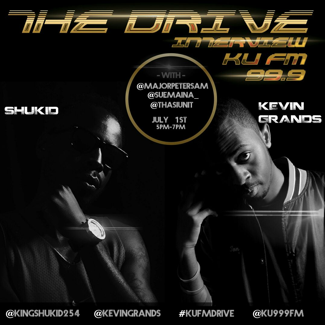 This evening! Kenyatta University, we'll be in your area! #KUFMDrive https://t.co/BXFZGbPxKs