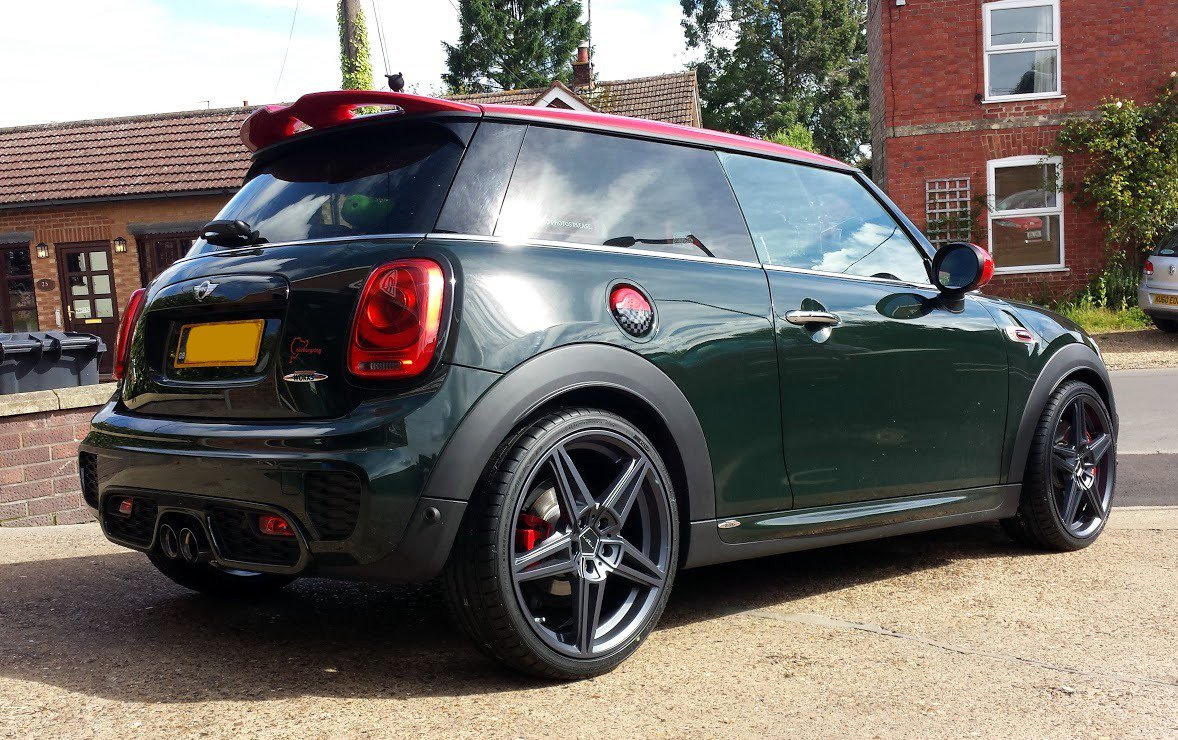 ac schnitzer uk on twitter mini f56 jcw in this. Black Bedroom Furniture Sets. Home Design Ideas