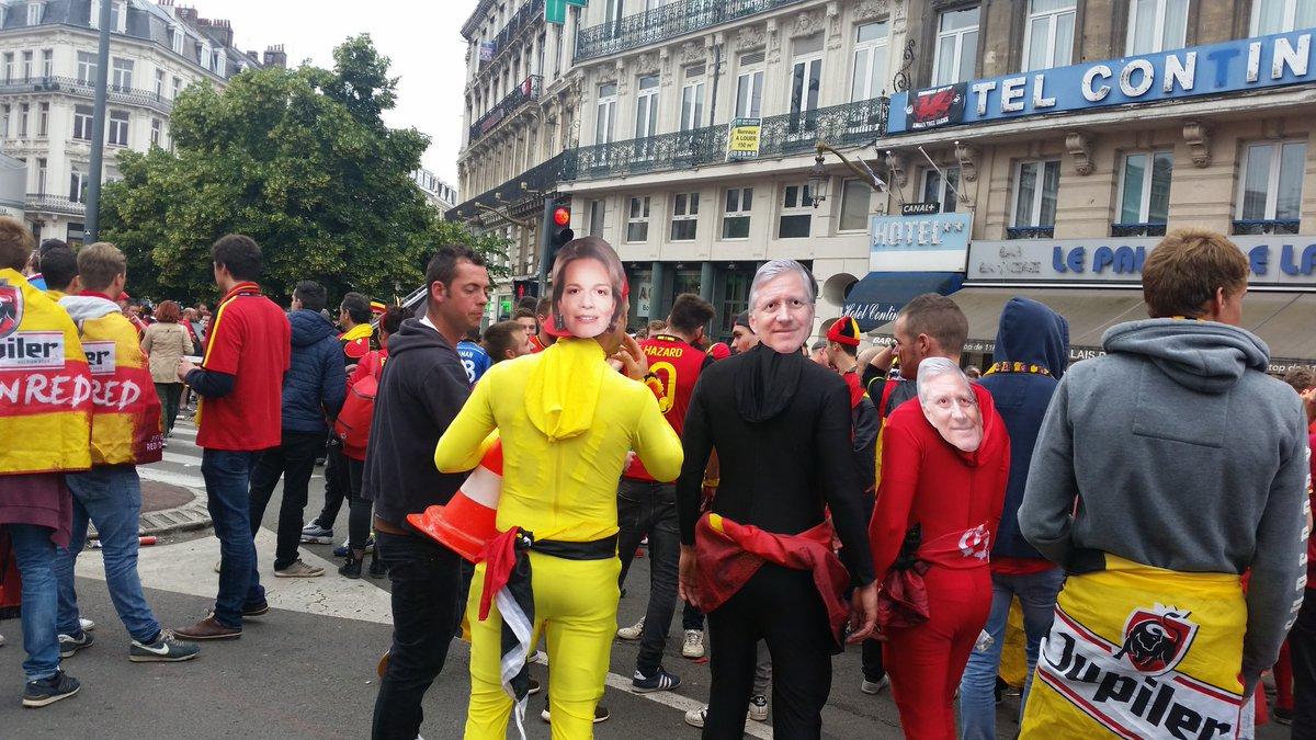 Уэльс - Бельгия. 18-й день Евро. Как это было - изображение 41