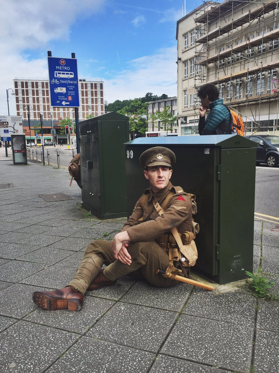 wearehere soldier by @georgieewatts on Twitter
