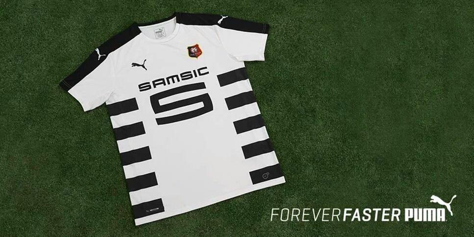 3262752fe8ffc OFFICIEL ! Puma présente le nouveau maillot extérieur de Rennes  !pic.twitter.com yEGkn4va6r