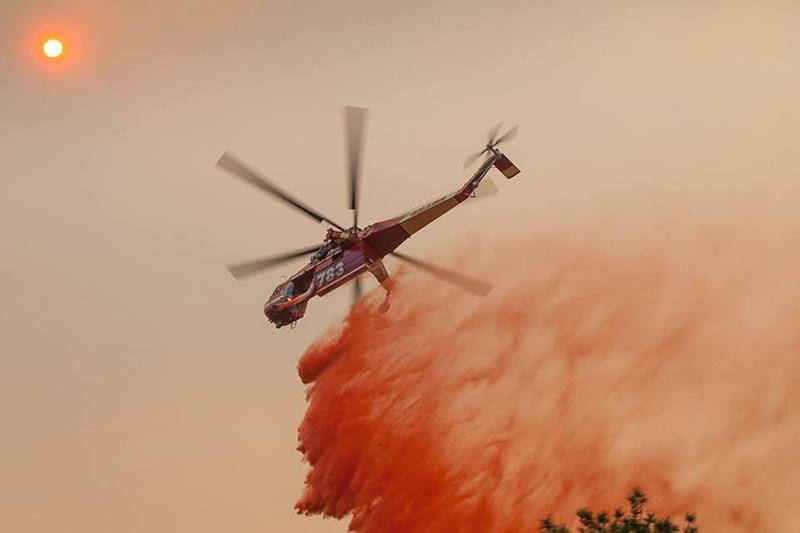 Drones are still hampering wildfire air crews on the West Coast