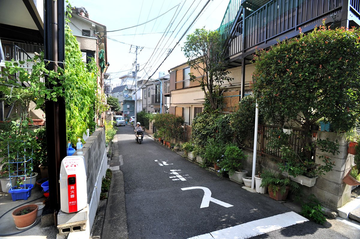 Afbeeldingsresultaat voor tokyo streets greenery