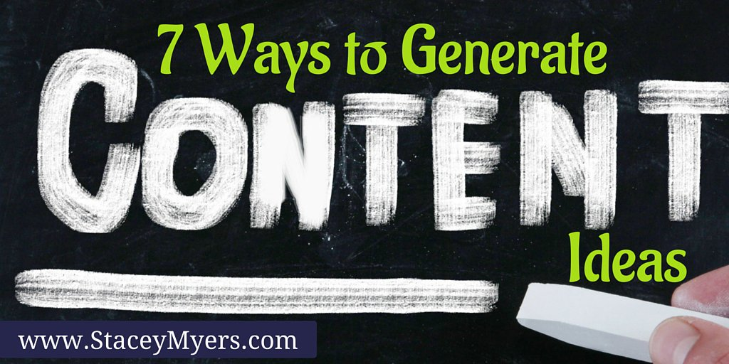7 Ways to Generate Content Ideas https://t.co/XuilYkKtTY https://t.co/9Q3TFzBy3j