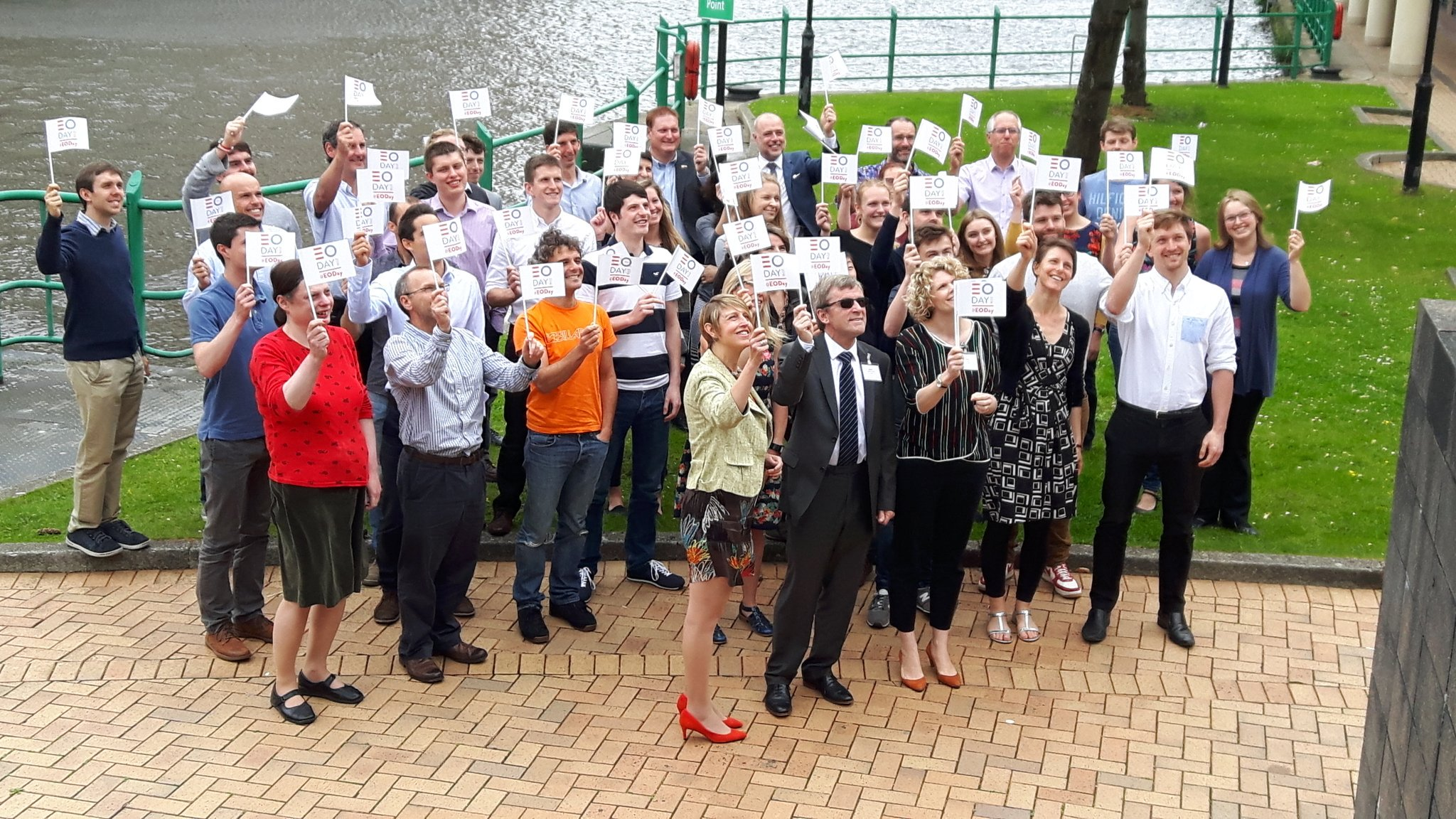 .@ArupUKMEA and @WalesCoOpCentre staff celebrating #EODay! #EmployeeOwnership #Wales https://t.co/z5N488prm8