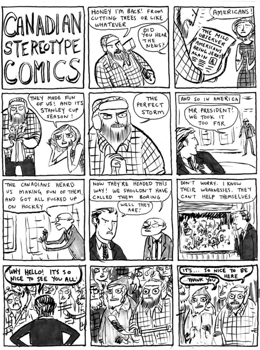 Happy Canada Day! We're closed for the holiday, here's a Kate Beaton Stereotype Lumberjack comic to tide you over https://t.co/OuZ56s9PAW
