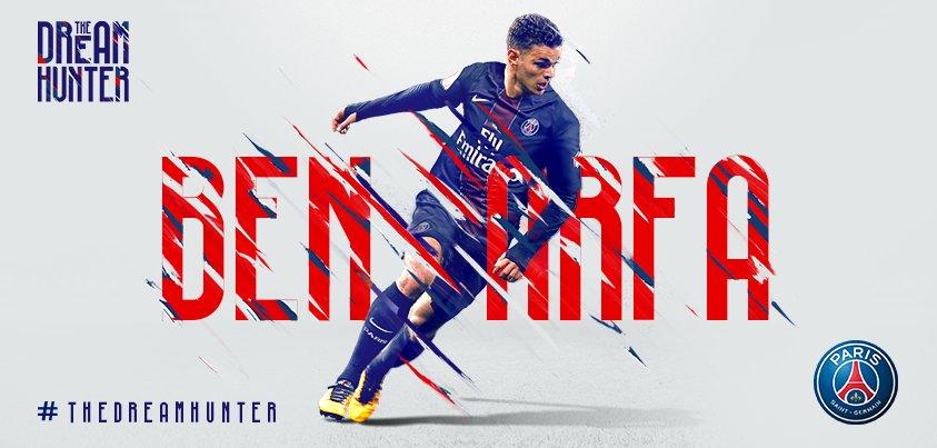Le @psg_inside est heureux d'annoncer la signature du contrat d'Hatem Ben Arfa jusqu'au 30 juin 2018 #TheDreamHunter