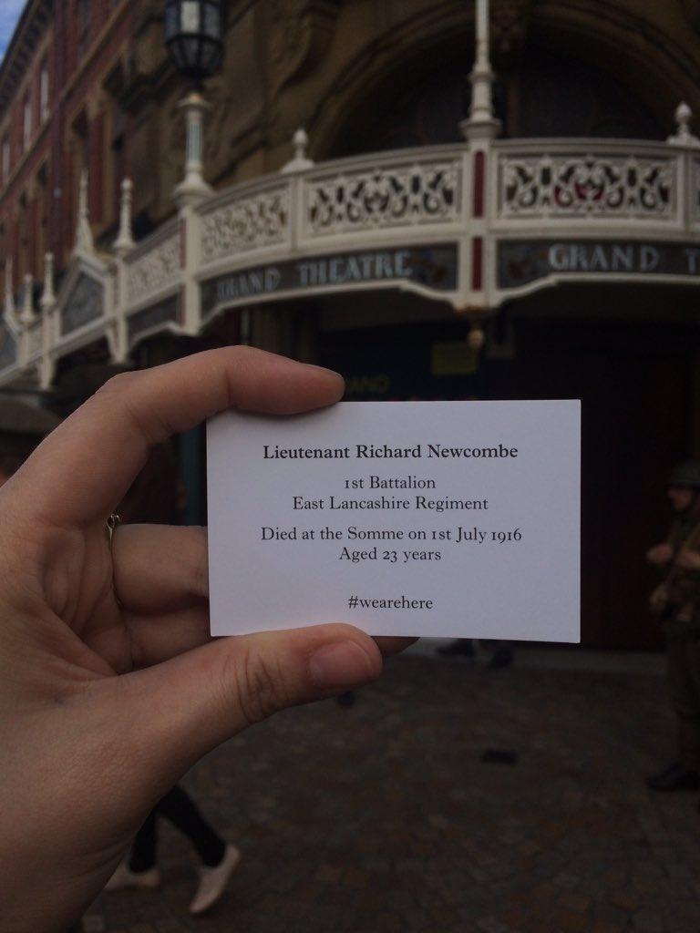#wearehere Did anyone else see them visit us here in #Blackpool? https://t.co/2djKokQe7l