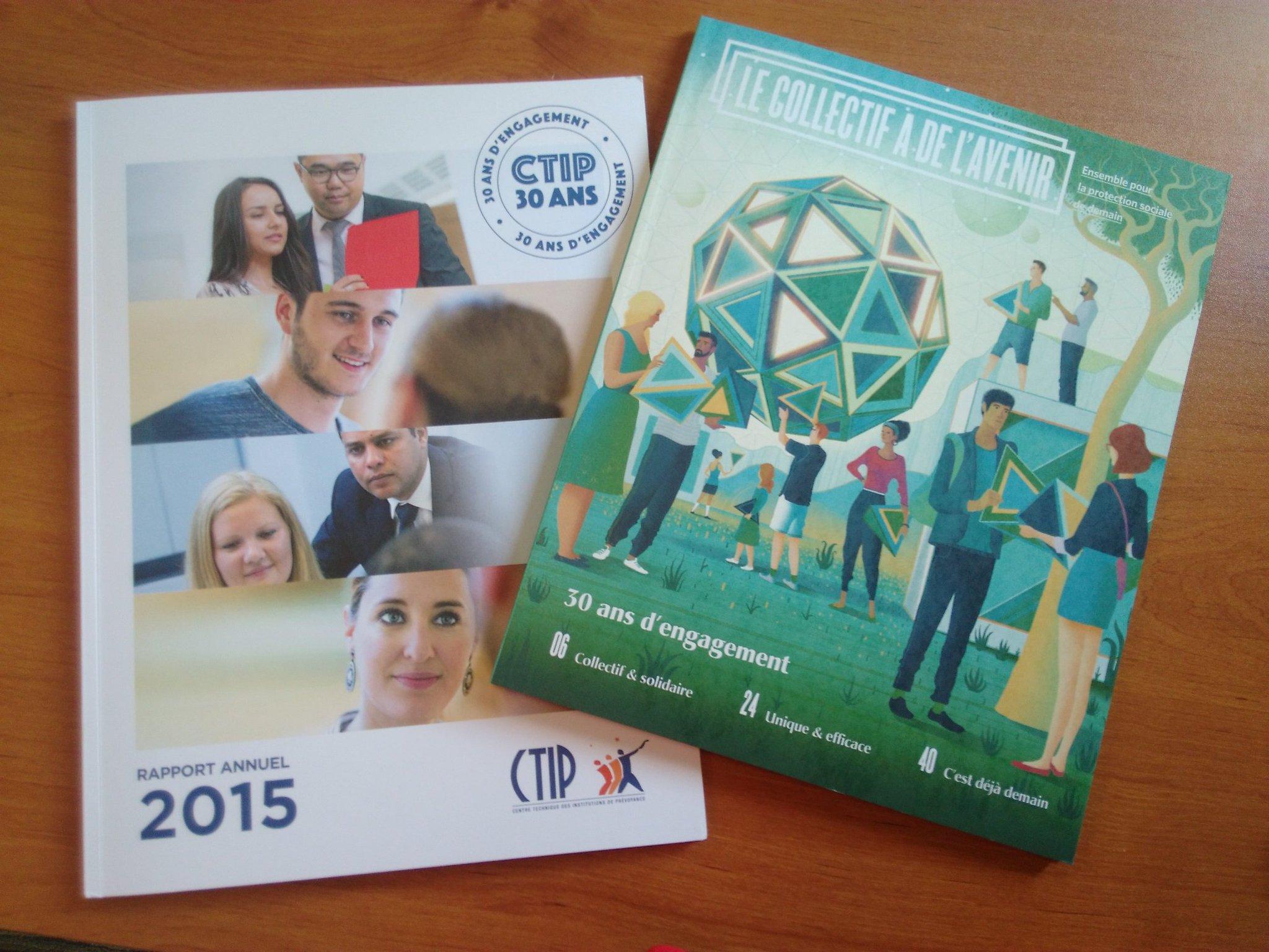 Le rapport annuel 2015 et l'ouvrage Le #collectif a de l'avenir viennent d'arriver. A découvrir le 5 juillet #CTIP30 https://t.co/du3e5RsVnn
