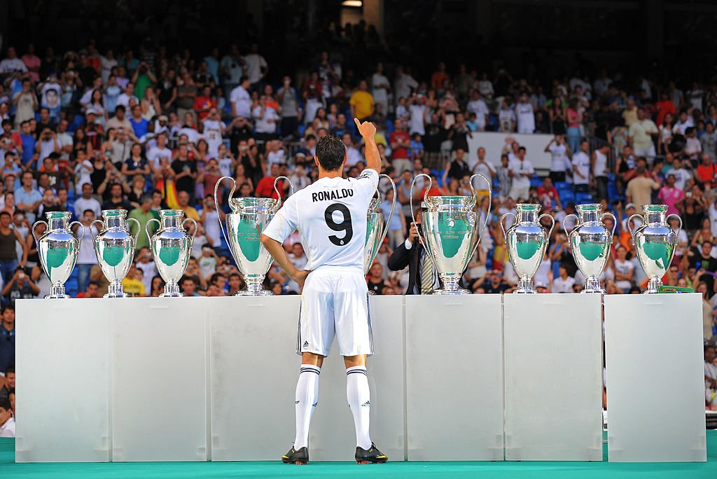 onthisday in 2009 nine time ucl winners real madrid officially signed cristiano  ronaldo the rest is 173c9d408