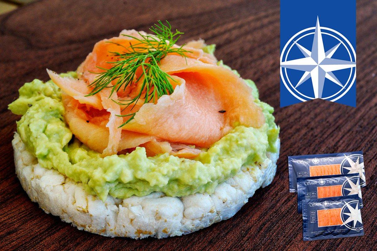 Dieta de salmon ahumado