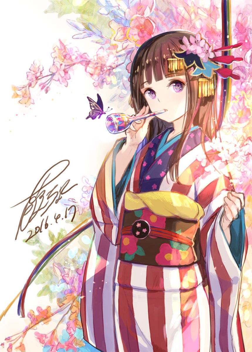1000+ Images About Anime - Kimono On Pinterest