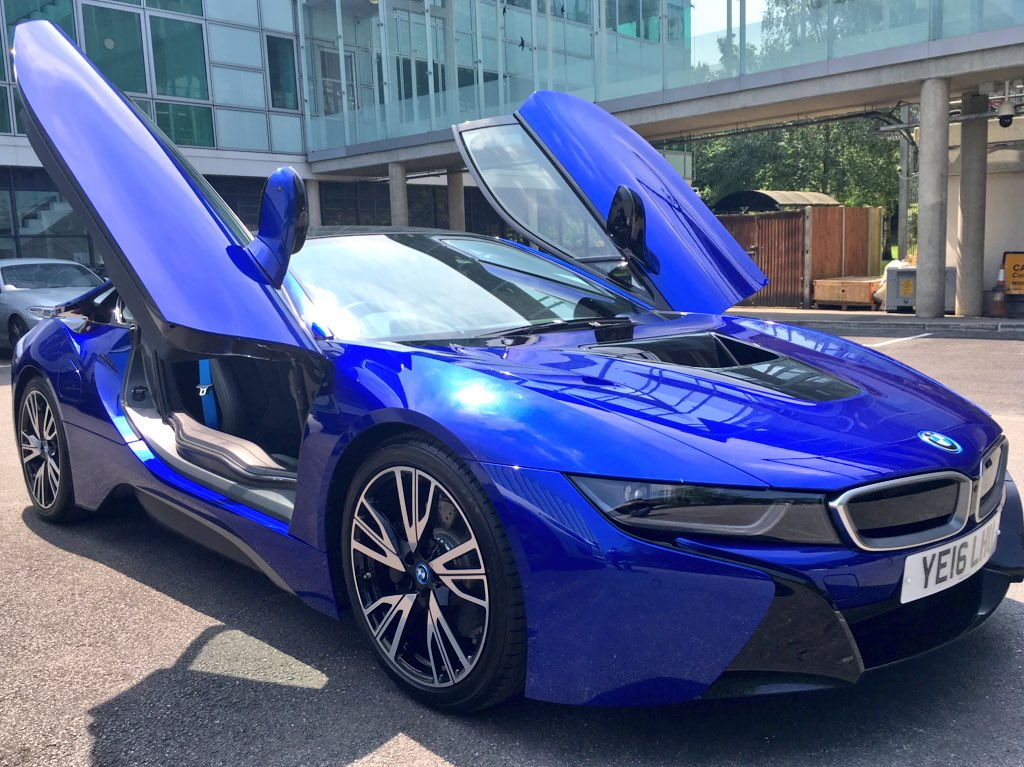 Duncan Smart On Twitter Wow This Bmw I8 In San Marino Blue Has
