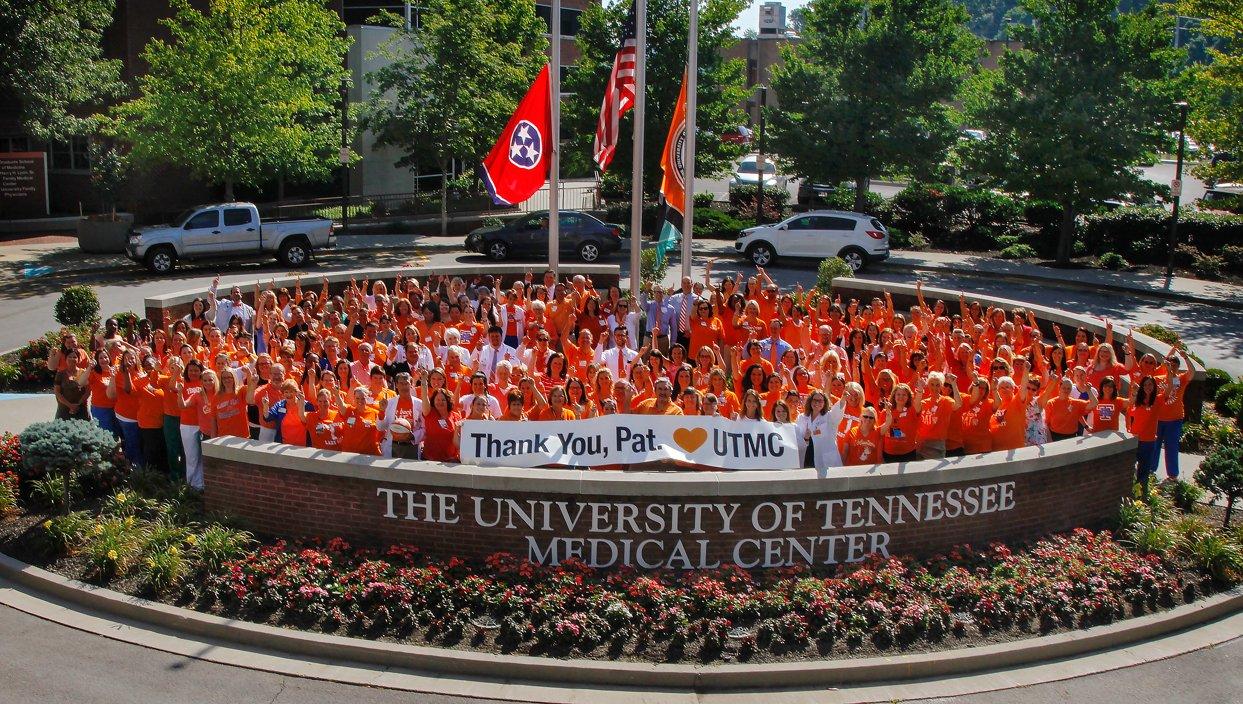 Thumbnail for Fans wear orange in honor of Pat Summitt