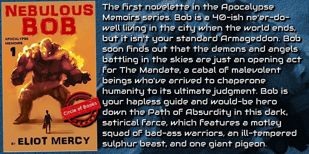 #apocalypse #humor #scifi #books Nebulous Bob (Apocalypse Memoirs #1) @mercyfiction  http:// goo.gl/aDu5oD  &nbsp;  <br>http://pic.twitter.com/Vir4EVoQ2t