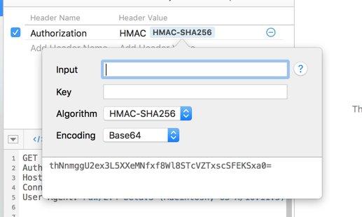 Hmac Base64
