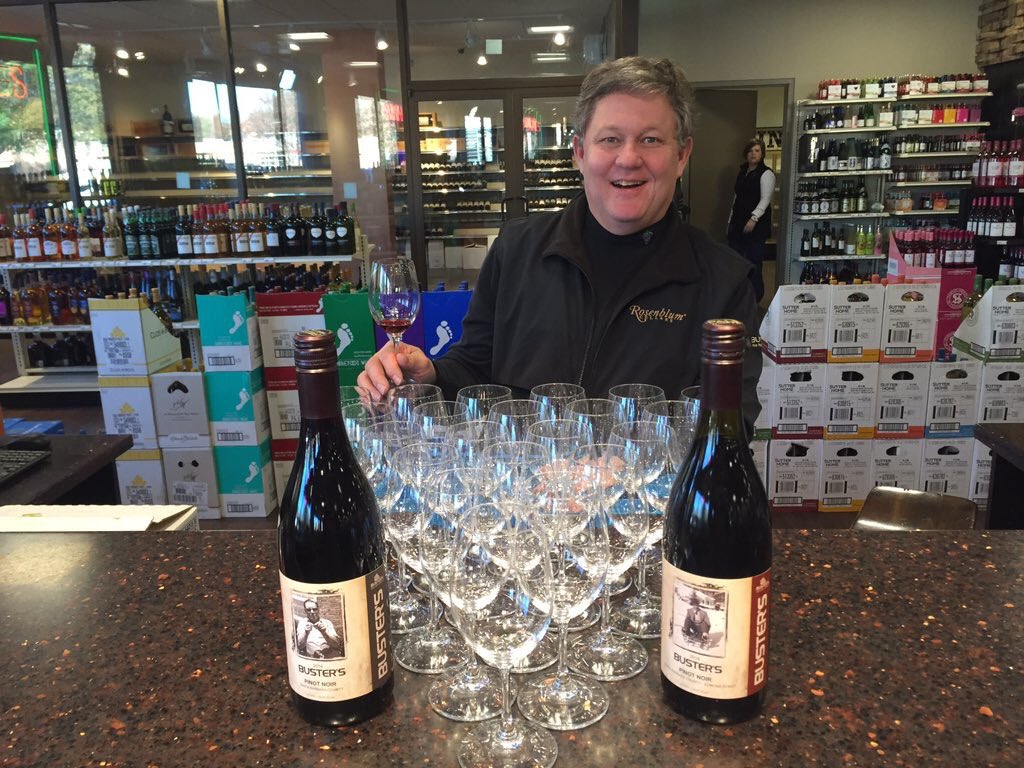 Wine. Still available at #local stores like @BustersLiquors, @joeswines and @KirbyWines #supportlocal https://t.co/N1V3sYujTz