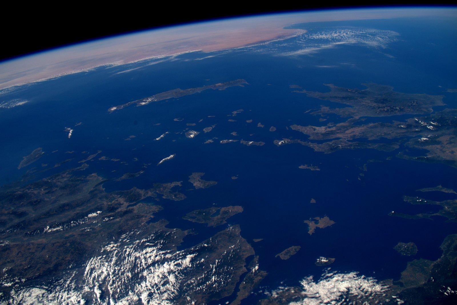 фотозоны океан фото с космоса такие