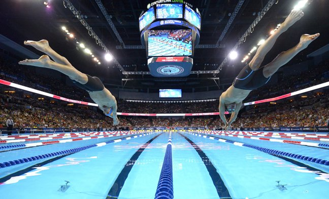 What does qualifying for the Olympics look like? These four photos of Clay County's Caeleb Dressel tell the story. https://t.co/Ydb3Zpz4GF