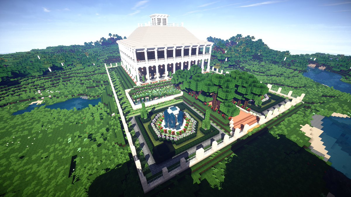 "JerenVids on Twitter: ""Plantation Mansion in #Minecraft by"