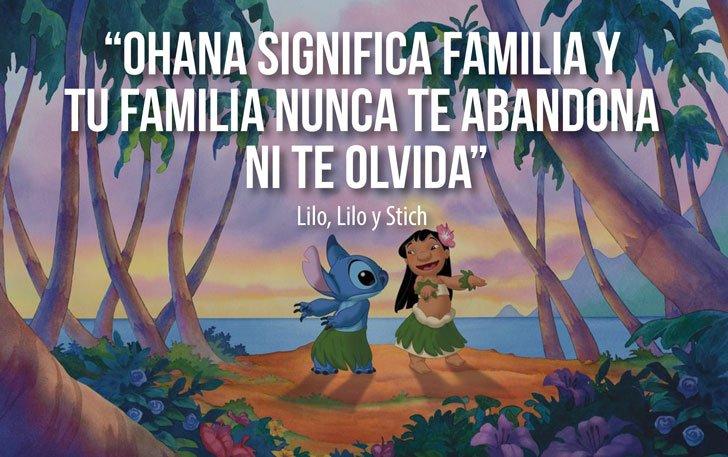 Mundos Mágicos On Twitter Ohana Significa Familia Y Tu Familia