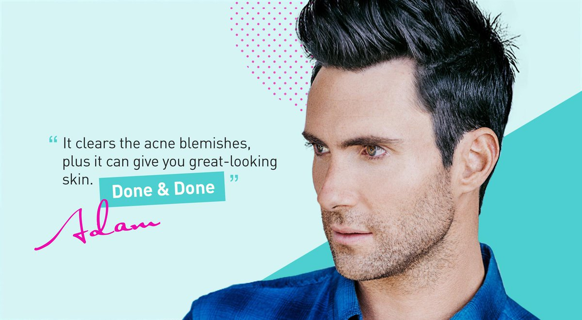 proactiv on twitter the perks of proactiv as told by adamlevine