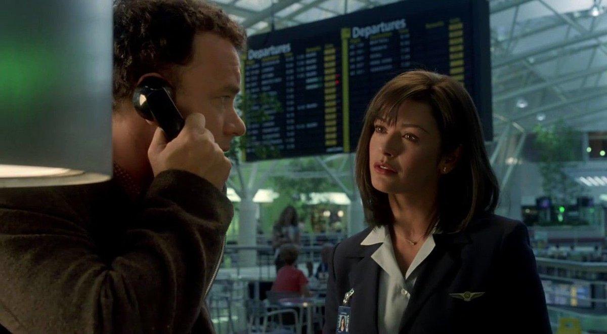 Silvia Todhe On Twitter Film The Terminal 2004 Tom Hanks Catherine Zeta Jones Director Steven Spielberg Tomhanks Spielberg Zetajones