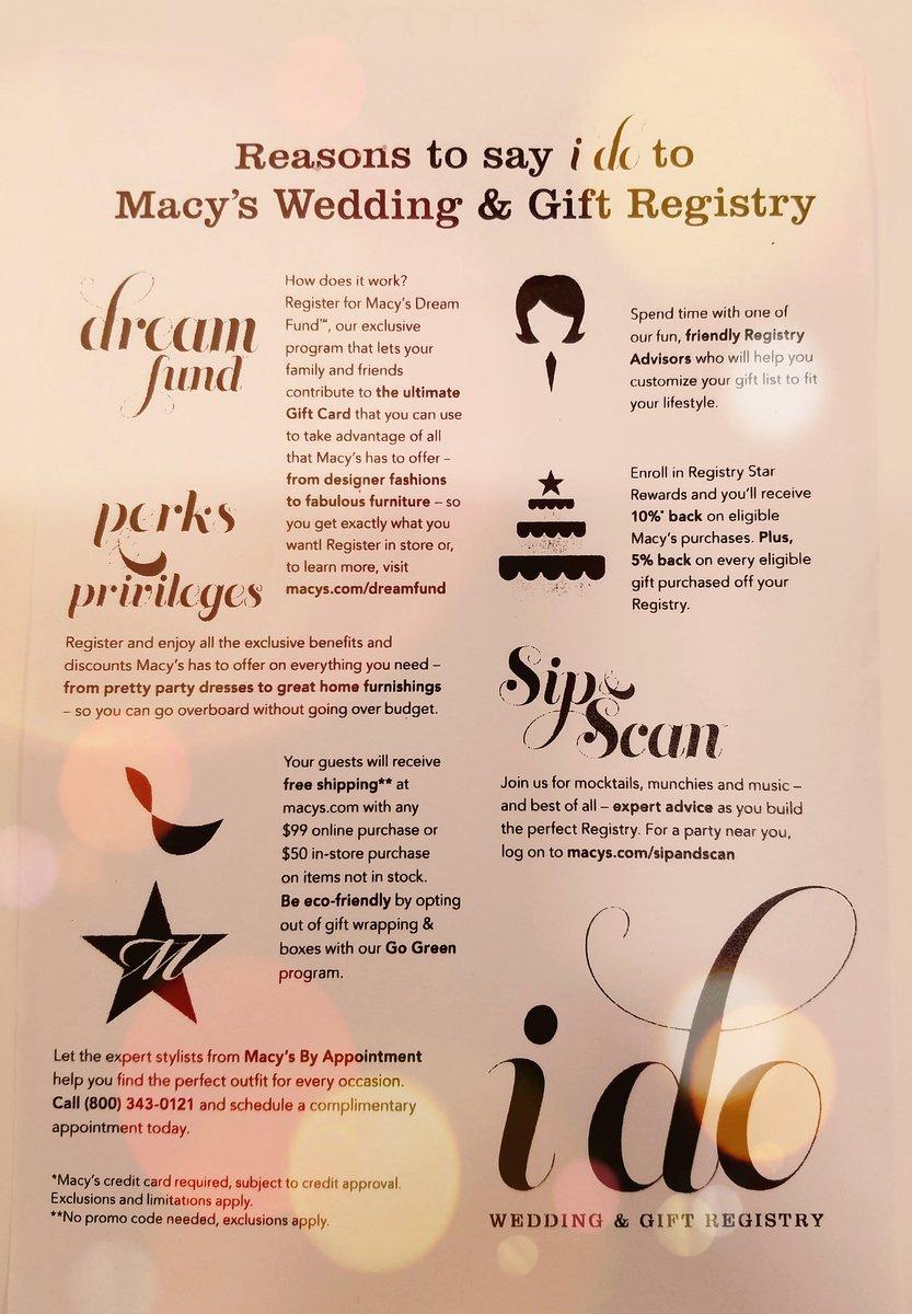 Macy Wedding Registry.Macy S Santa Anita Idoatmacys Twitter