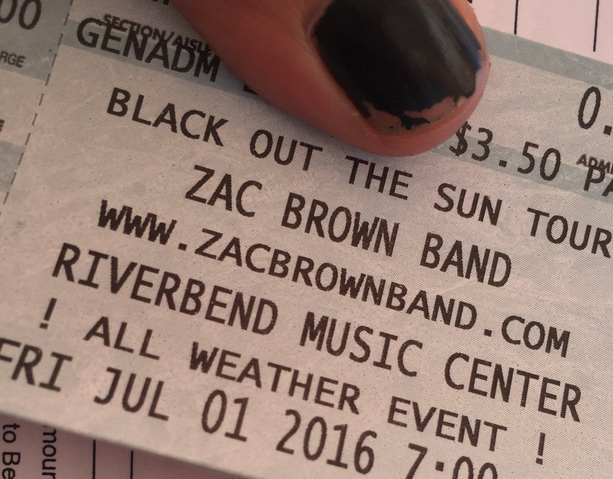 Visit Matt + I at the @b105 tent at @BelterraPark to enter to win Pavillion tix to tonight's SOlD OUT @zacbrownband! https://t.co/6Cppyv4eq3