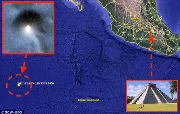 Scoperta Piramide perfetta in fondo al Pacifico con Google Earth (VIDEO)