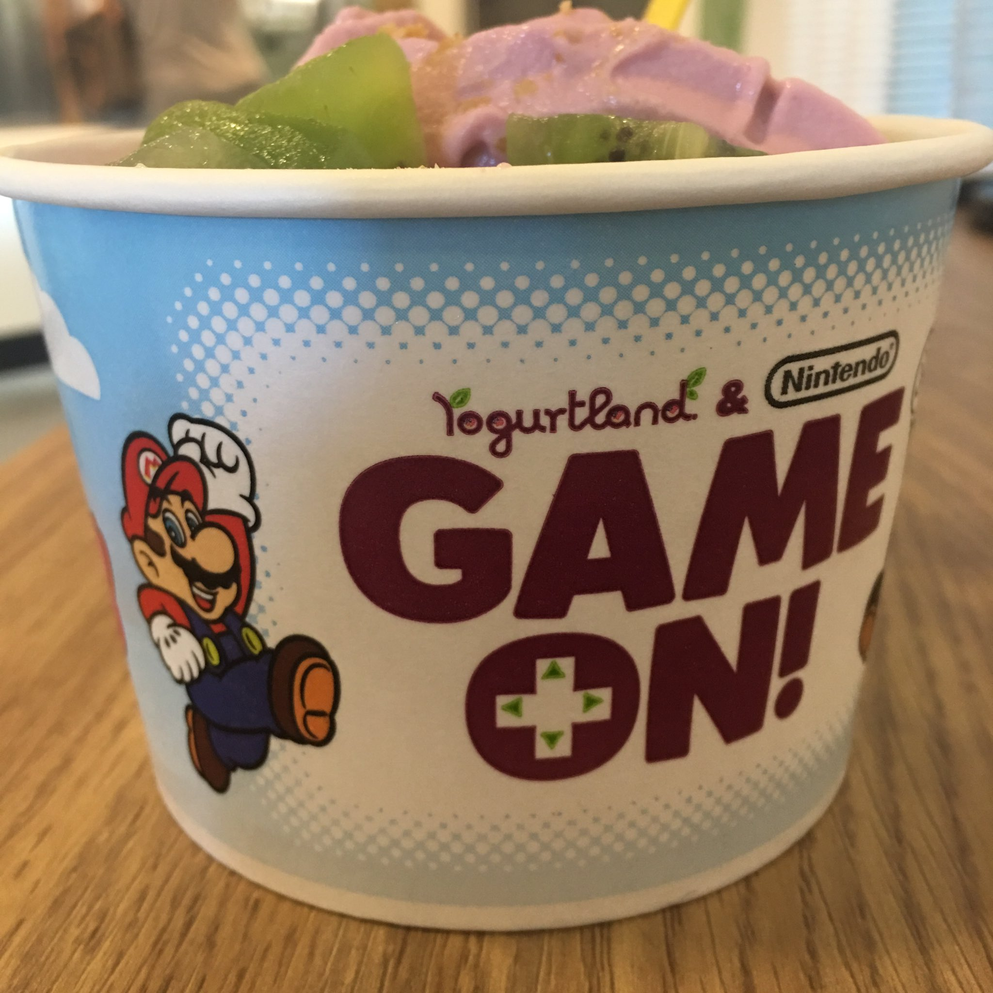 Y'all know I had to get some of this @NintendoAmerica yogurt. Princess tryna get some yoshi D #andistillgetnolove https://t.co/Z7U66Gv7if