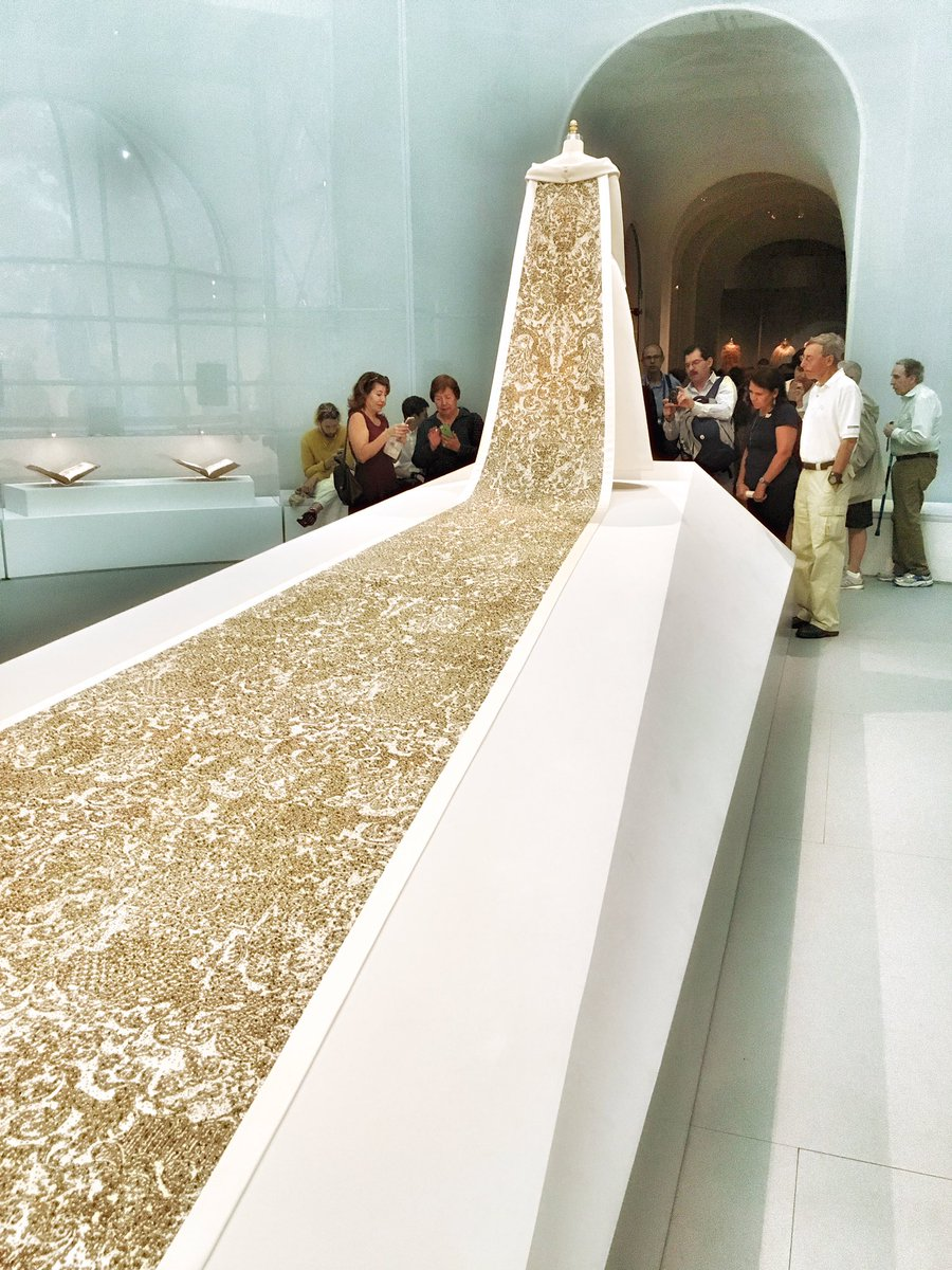 More #ManusxMachina beauty @metmuseum  #artsed #arted