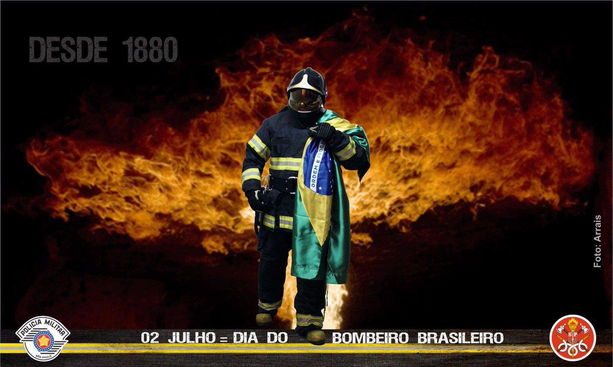 2  de julho, dia do Bombeiro Brasileiro. https://t.co/TrJM7HUNXM