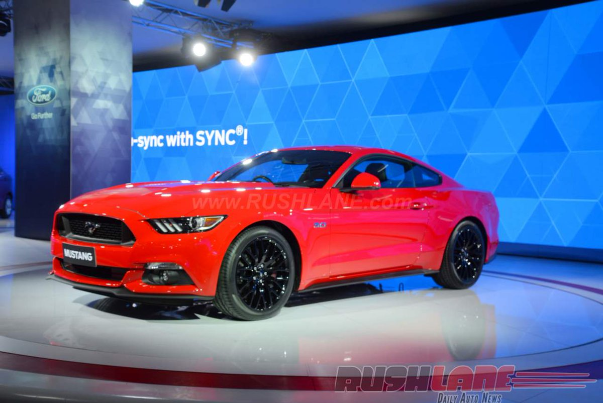 Rushlane On Twitter Ford Mustang Gt India Launch On July  Https T Co Ygkhbjbr