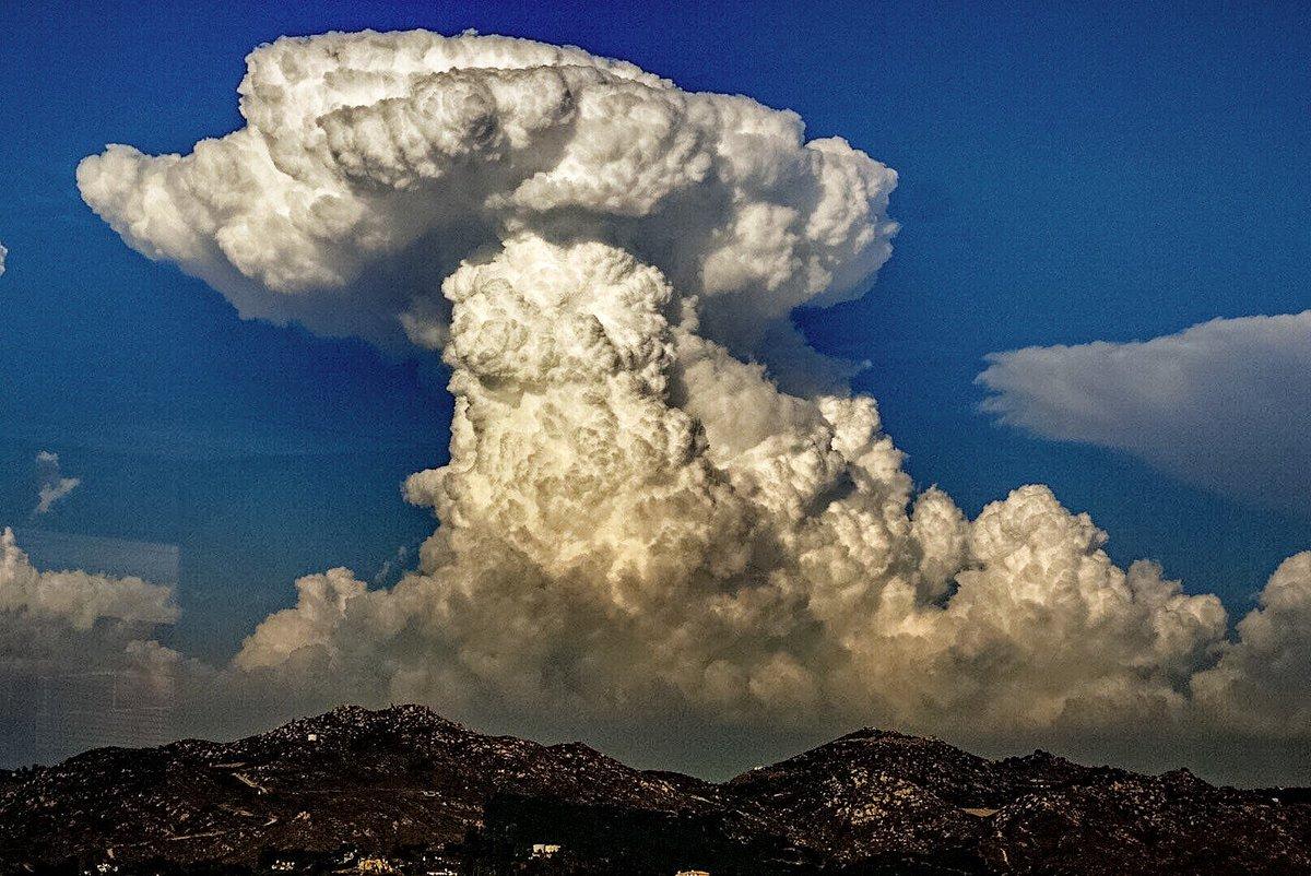 "NWS San Diego on Twitter: ""Awesome #Cumulonimbus cloud ..."