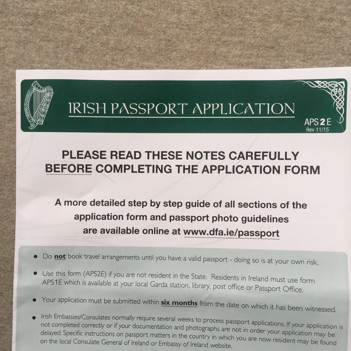 Grahame williams on twitter father ted font on the irish passport grahame williams on twitter father ted font on the irish passport application form falaconquin