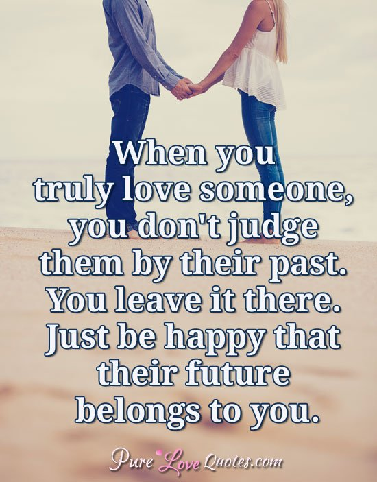 "Pure Love Quotes Custom Pure Love Quotes On Twitter ""when You Truly Love Someone You Don"