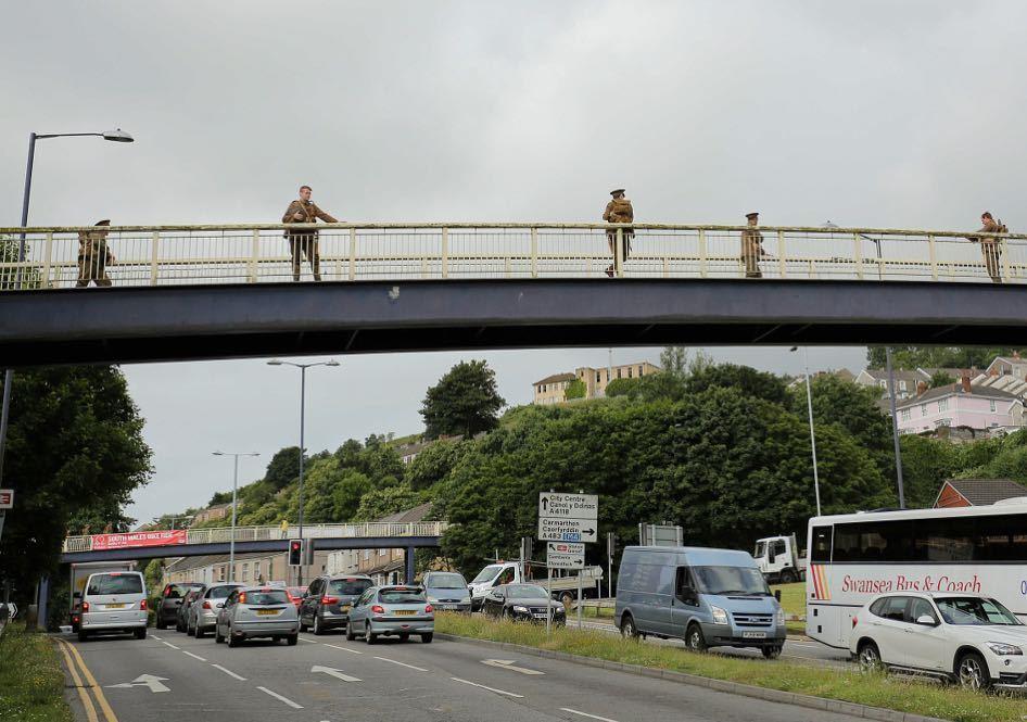 #Swansea #wearehere @1418NOW @VolcanoUK. Photo by @legakisd https://t.co/p5adSRGXls https://t.co/R0ppvBylGV https://t.co/aGdOvtpDW5
