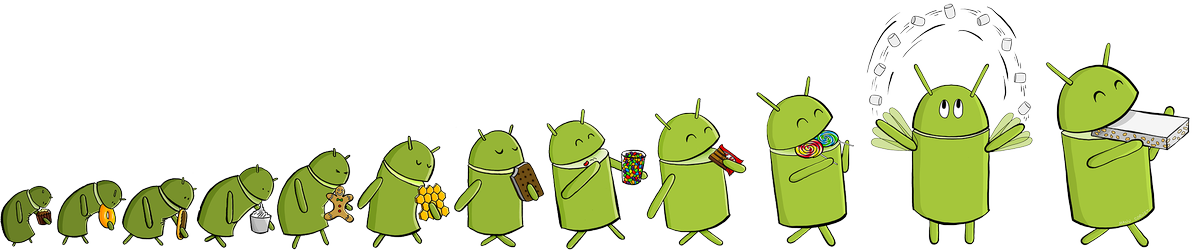 L'évolution d'Android https://t.co/Pv9XEcLh9p
