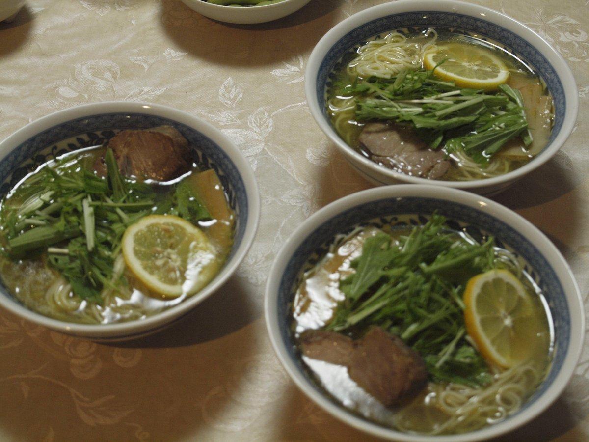 麺や蔵人 塩らーめん組み立てキット 塩ほたてに比べてあっさりしたスープですが魚介ダシがきいていて旨い! ごちそうさまでした!