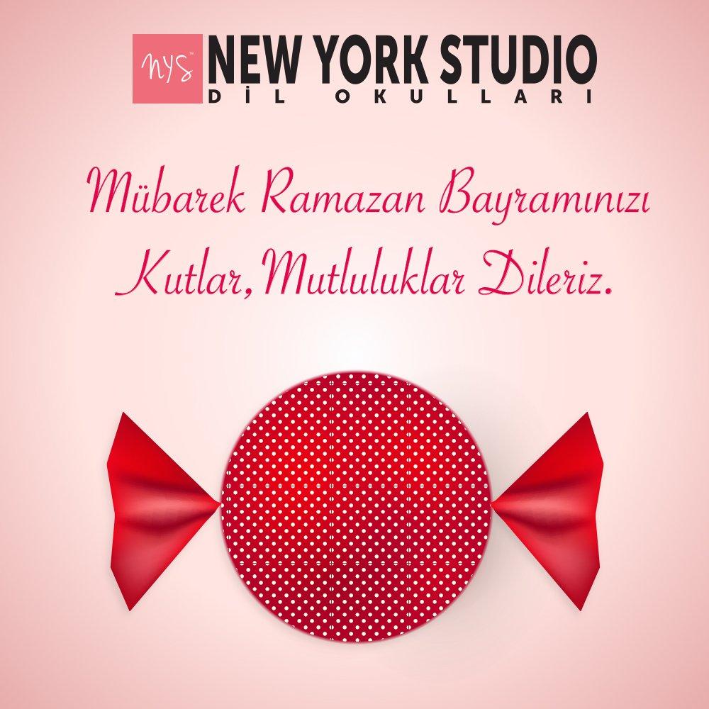 New York Studio On Twitter Ramazan Bayraminizi Kutlariz
