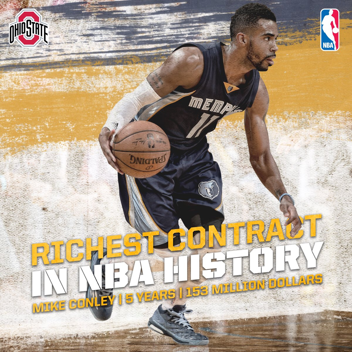 Ohio State Hoops On Twitter Congrats To At Mconley11 On His New 153