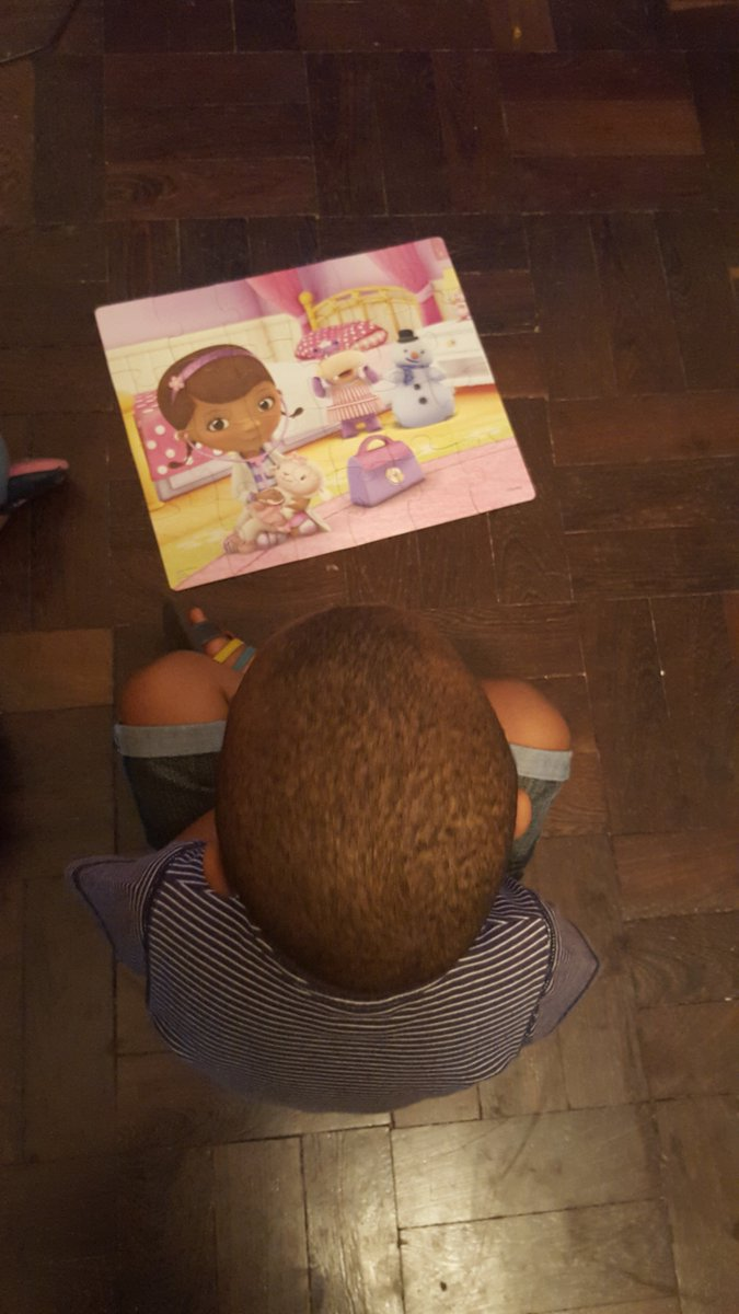 My son with his favourite puzzle. #RenewDocMcStuffins https://t.co/4jjvY0ZFmP