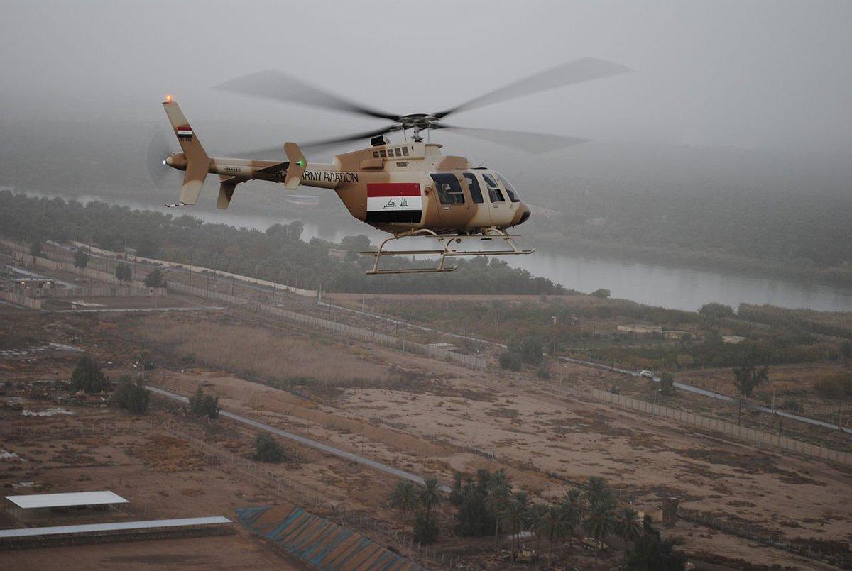 العراق يشتري 5 مروحيات Bell-407GX CmXXvRNXEAA_2df