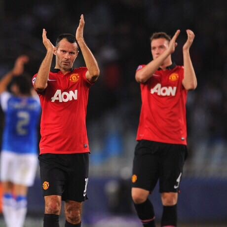 To play alongside him & to play for him is something I'll never forget. Thanks Giggsy, All the best mate. @ManUtd