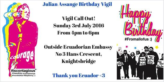 Happy 45, Julian! https://t.co/Y4ULMCJvxe #FreeAssange https://t.co/Y7HxXiKZDP