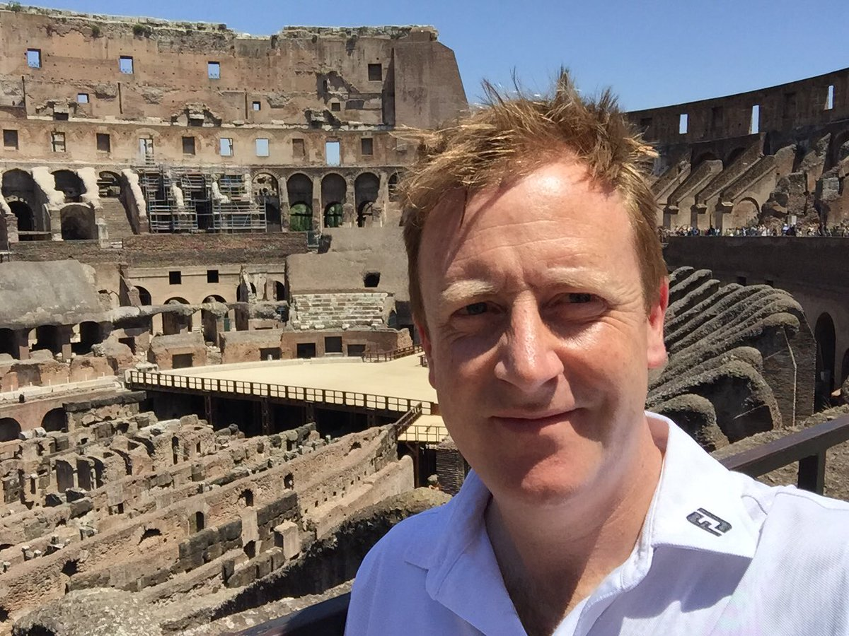 Rome should come with a heat warning, esp for a ginger - even phone needed a breather! #naebuiltforheat #whatacity